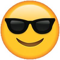 Life size Emoji Sunglasses
