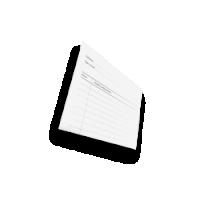 A6 onderhoudskaarten laten drukken