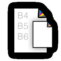 B-formaat flyers drukken, zoals b4, b5, b6 flyers