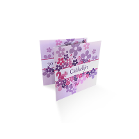 drieluik kaarten drukken in kleur en op luxe papier