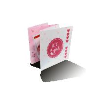 Vierluik kaarten laten drukken