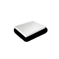 parelmoer papier karton wit