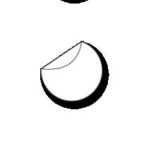 ronde stickers drukken 15 cm