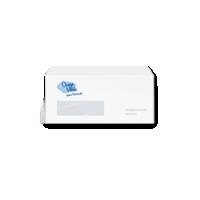 bedrukte EA5/6 enveloppen met venster links
