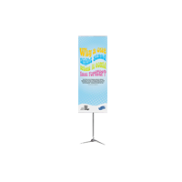 Pole system banner