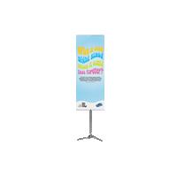 De Pole System banner, de hoogste lichtgewicht banner