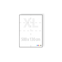 mega posters 500 x 130 cm