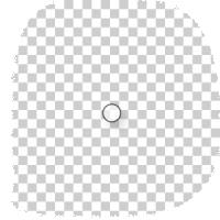 kleine transparante stickers drukken 3 cm