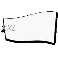groot spandoek  - xl doek op 4 x 8 meter