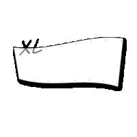 groot spandoek  - xl doek op 2 x 6 meter
