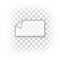 transparante stickers drukken 10 x 15 cm