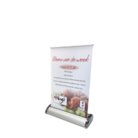 a4 rollup banner tafelbanner baliebanner
