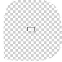 kleine rechthoekige transparante stickers drukken
