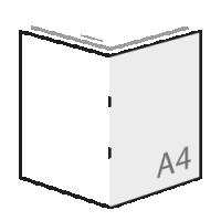 A4 boekjes drukken met 8 pagina's full-color