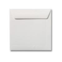 Gebroken wit enveloppen 19 cm