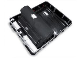Case and Counter pakket met daarin de beurswand, ideaal voor regelmatig verplaatsen en op- en afbouwen