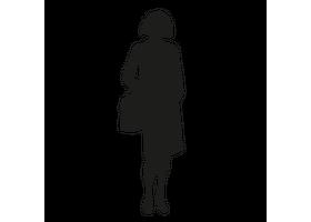 Een zelfstaande vrouw van karton is de ultieme blikvanger!