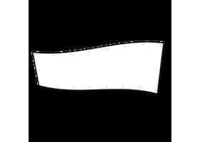 spandoek 100 x 500 cm