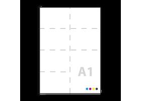 a1 posters drukken op 130grs satin
