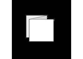 11 x 11 vierkante kaarten drukken van 11cm vierkant