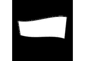spandoek 130 x 400 cm
