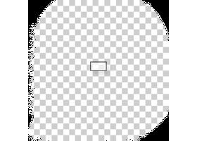 kleine transparante stickers drukken met steunkleur wit