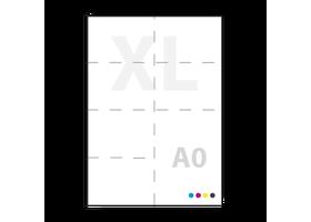 a0 posters drukken op glossy zelfklevend PVC