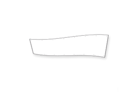spandoek 100 x 400 cm
