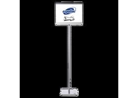 Expolinc info stand recht, straight, informatie standaard, brochure display