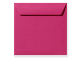 Gekleurde vierkante enveloppen 22 cm
