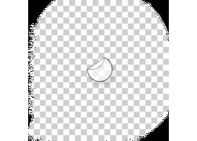 ronde transparante stickers drukken 7 cm