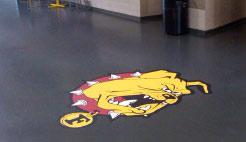 vloerstickers en floor graphics